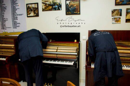 تعمیر پیانو آکوستیک