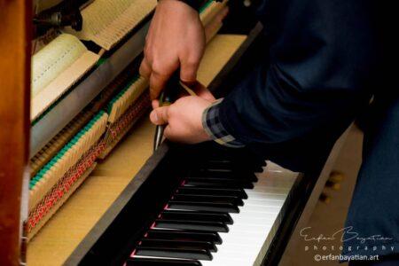 تعمیر پیانو